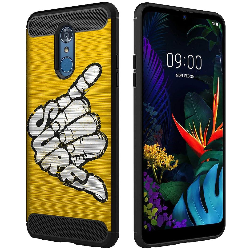 OmyBloom Light Flex Case Compatible for LG Q7 / LG Q7 Plus | Beach Vibes Design Phone Case for LG Q7 + - Surf's Up