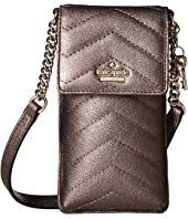 Kate Spade New York - Quilted North/South Phone Crossbody