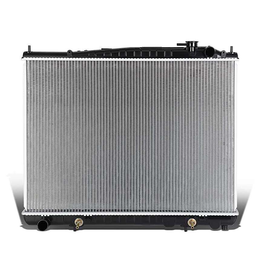 DNA Motoring OEM-RA-2459 2459 OE Style Aluminum Cooling Radiator Replacement