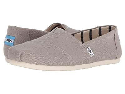 TOMS Venice Collection Alpargata (Morning Dove Heritage Canvas) Women