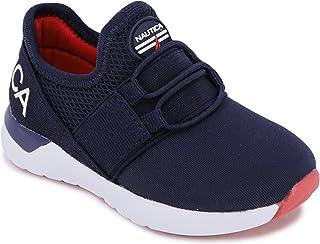 Kids Sneaker Athletic Slip-On Bungee Running Shoes Boy -...