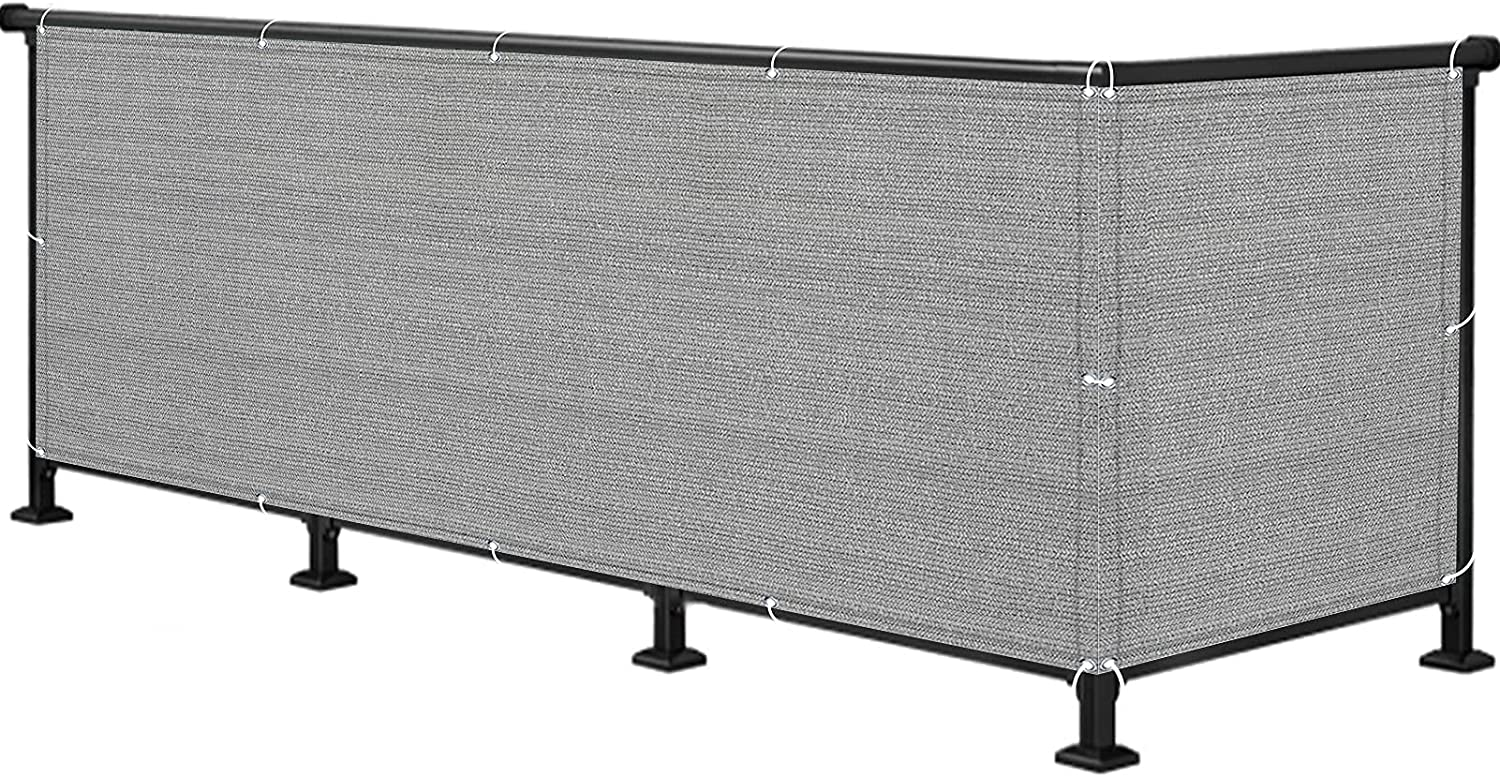 National products ALBN Balcony Privacy Regular dealer Screen Outdoor Breath Fence Cover Shade Net