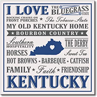 My Word! I Love Kentucky - 12 x 12 Wooden Sign