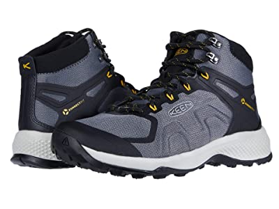 KEEN Explore Vent Mid (Steel Grey/Keen Yellow) Men