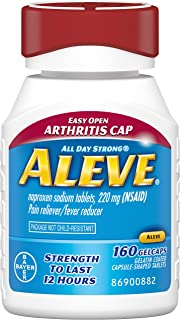 Aleve Liquid Gel 160ct