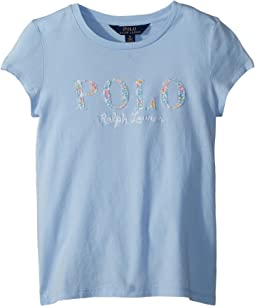 Polo Ralph Lauren Kids - Floral Polo Jersey T-Shirt (Little Kids)