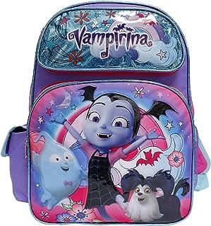 Disney Junior Vampirina New Cute Purple Girls' Large School Backpack- Hauntley