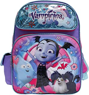 Disney Junior Vampirina New Cute Purple Girls' Large School Backpack- Hauntley