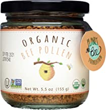 GREENBOW Organic Bee Pollen - 100% USDA Certified Organic, Pure, Natural Bee Pollen - Superfood Packed with Proteins, Vita...
