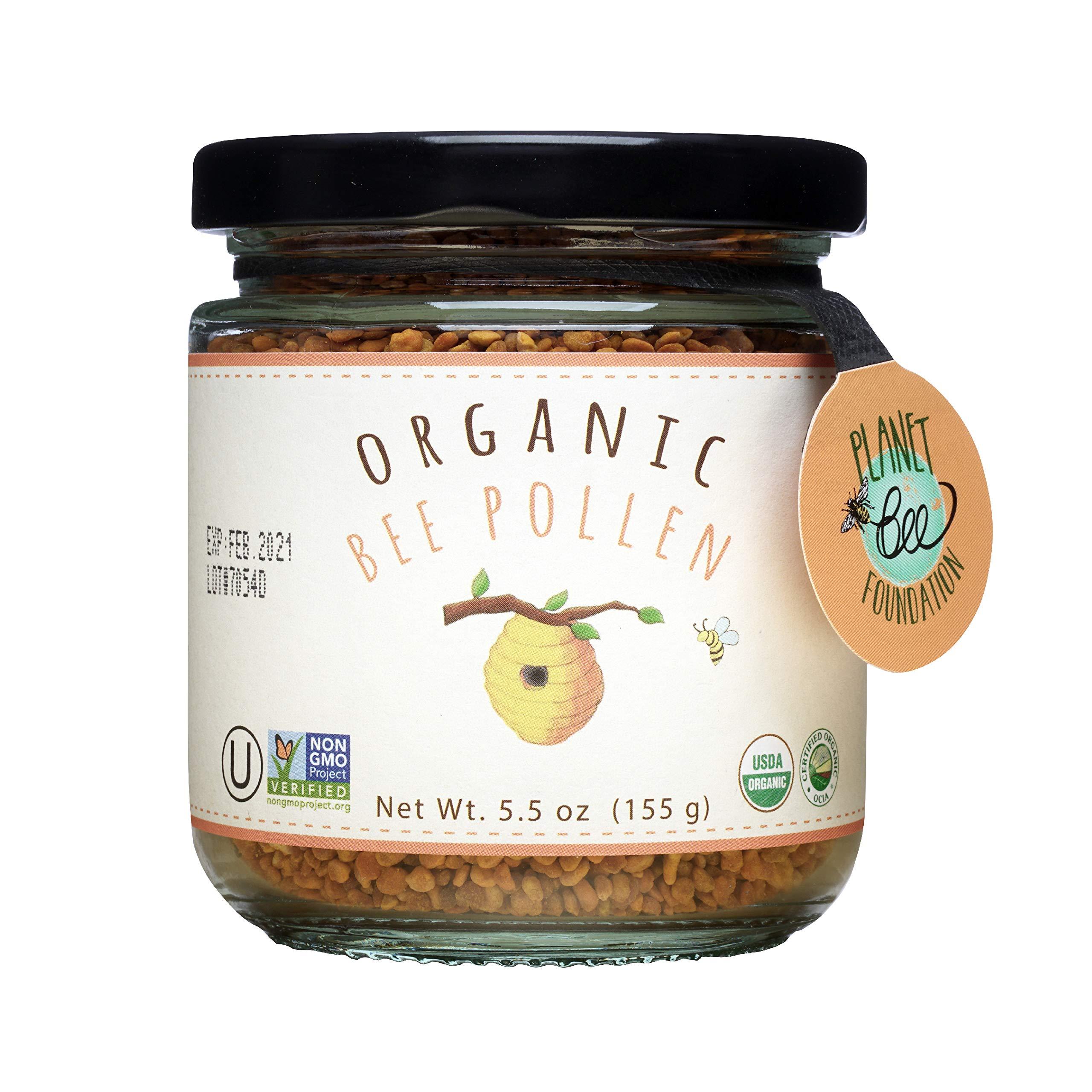 GREENBOW Organic Bee Pollen Certified