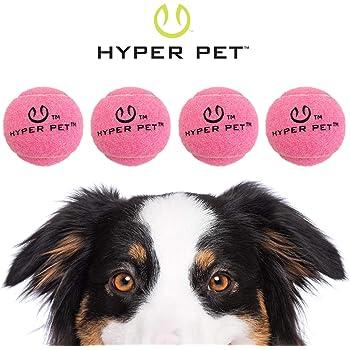 Hyper Pet Tennis Balls For Dogs (Pet Safe Dog Toys for Exercise, Training, Hyper Pet K9 Kannon K2 & Hyper Pet Ball Launcher) [Brightly Colored Interactive Dog Toys for Large Dogs, Medium & Small Dogs]