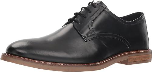 Ben Sherman Hommes's Hommes's Birk Plain Toe Oxford, noir, 9 M US  point de vente