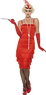 Smiffys Women's 1920's Red Flapper Costume