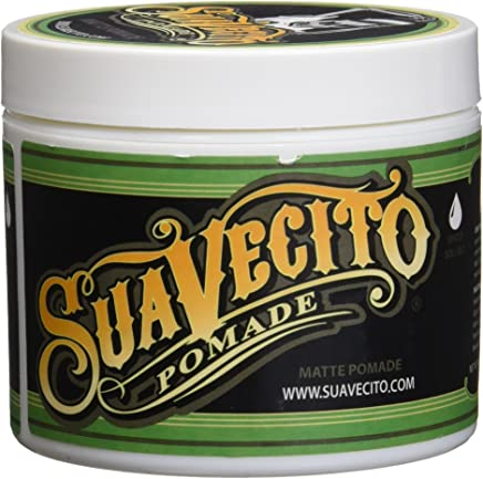 Suavecito Shine-Free Matte Pomade for Men, 4 Ounce