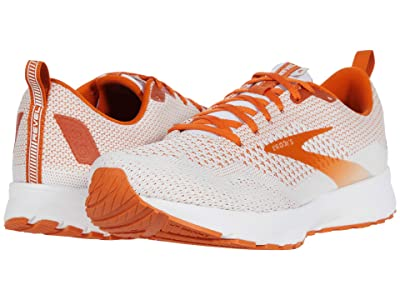 Brooks Revel 4 (White/Orange) Men