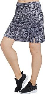 slimour Women Modest Running Skirt Travel Skirts with Pocket Swim Skirt High Waist with Shorts