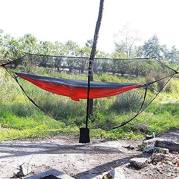 360 ° Mesh Camping Hängematte Bug moskitonetz netze für Wandern Schwarz