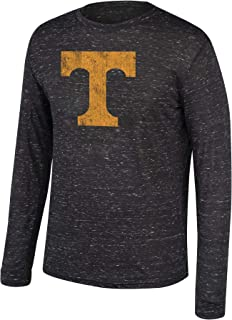 Top of the World NCAA Men's Dark Heather Heritage Tri-Blend Long Sleeve Tee