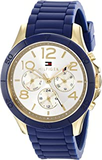 Tommy Hilfiger Women's 1781523 Sophisticated Sport Analog Display Quartz Blue Watch