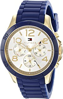 Tommy Hilfiger Women's 1781523 Sophisticated Sport Analog Display Quartz Blue Watch