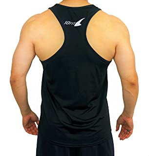 (テンフィット)10FIT タンクトップ トレーニングウェア 筋トレ ボディビル ジム スポーツ メンズ TE-04