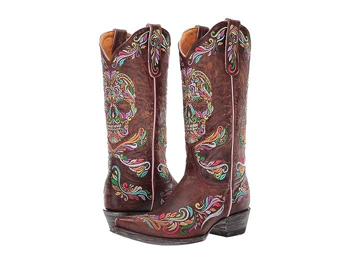 Old Gringo Dulce Calavera Sugar Skull Boots