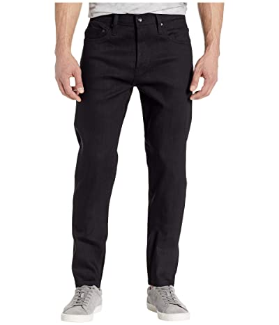 The Unbranded Brand Relax Tapered in 11 oz Solid Black Stretch Selvedge (11 oz Black Stretch Selvedge) Men
