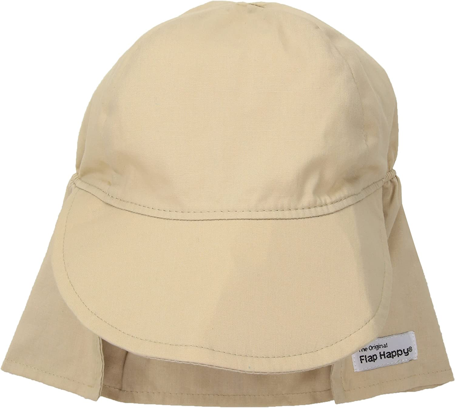 Outstanding Flap Happy Baby UPF Large 50+ Khaki Hat Ranking TOP1