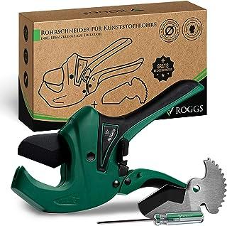 ROGGS® Rörskärare plaströr med reservblad upp till 42 mm Ø rörskärare, slangskärare, plaströrskärare, rör klippare, slangk...