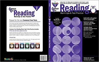 Newmark Common Core Reading Warm-Ups and Test Practice Book, Grade 7 (CC Warm-Ups)