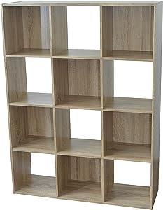 Alsapan estantería, Madera, marrón, 92x 30x 123cm
