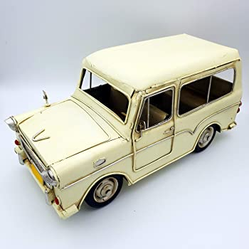 Dynasun Art Vintage Metall Automodell Aus Der Retro Style Kollektion Oldtimer Maßstab 1 20 25 Cm Küche Haushalt