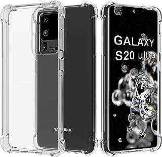 Migeec Funda para Samsung Galaxy S20 Ultra 5G Suave TPU Gel Carcasa Anti-Choques Anti-Arañazos Protección a Bordes y Cámar...