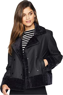 Total Eclipse Bonded Faux Fur Jacket