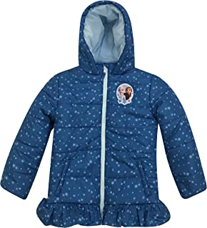 Toddler Girl Authentic Character Winter Puffer Jacket with Hood
