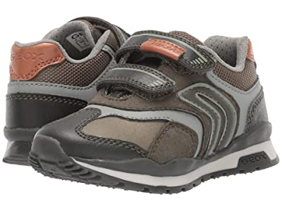 Geox Kids Jr Pavel 23 (Toddler) (Military) Boys Shoes