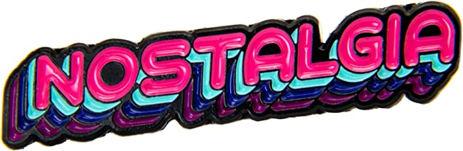 Ectogasm 100100 Nostalgia Enamel Pin 80's Retro Colors