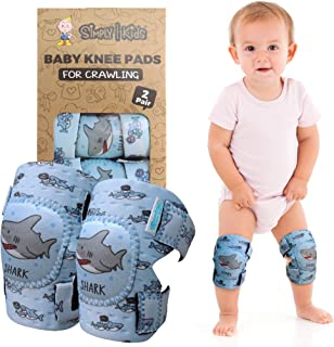 Baby Knee Pads for Crawling (2 Pairs) | Protector for Toddler, Infant, Girl, Boy