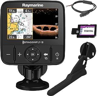 Raymarine Dragonfly 5 PRO GPS Sonda 5 Pulgadas DownVision CPT-DVS Carta C-MAP Essentials