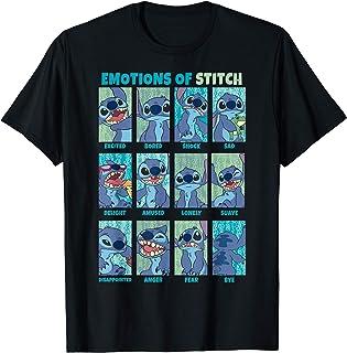 Disney Lilo & Stitch Emotions Of Stitch Box Up Camiseta