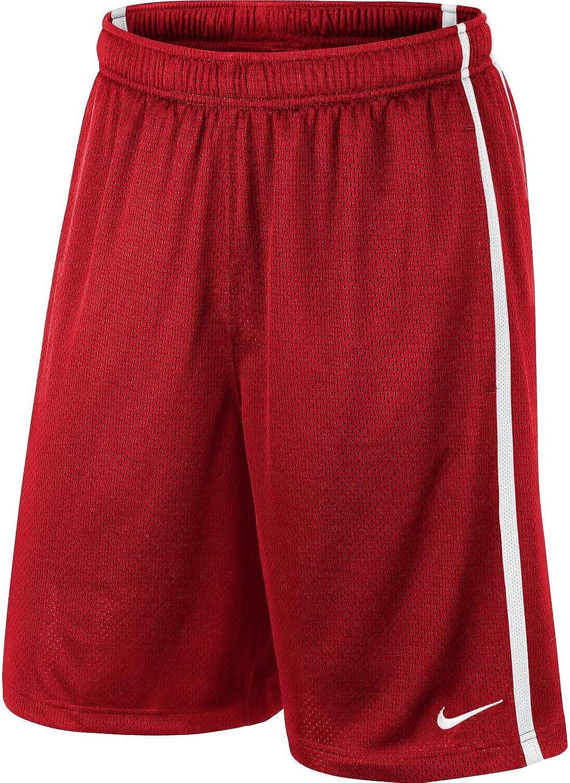 Amazon.com: Nike Mens Monster Mesh Training Shorts-Red-Small ...