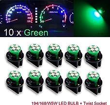 PA - Bombillas LED de 1,25 cm, con enchufe con bloqueo giratorio de 12V para panel de cuadro de mandos. 6unidades. T10168194.