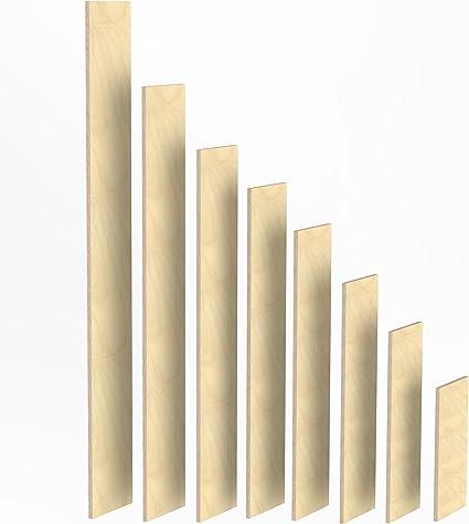 100mm Holz Bretter 27mm Multiplex Brett-Zuschnitte L/ängen 1m 1200 mm 2m Birke Sperrholz Brett L/änge