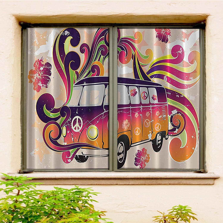 Boho Decor Peace Van excellence Funny Bohemian Hippie Caravan Minivan Hippy Save money