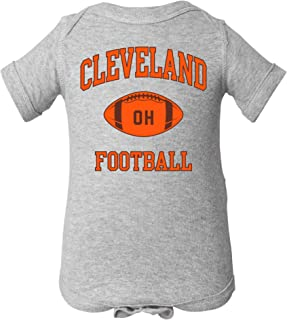 Classic Football Arch - American Football Team Sports Infant Creeper