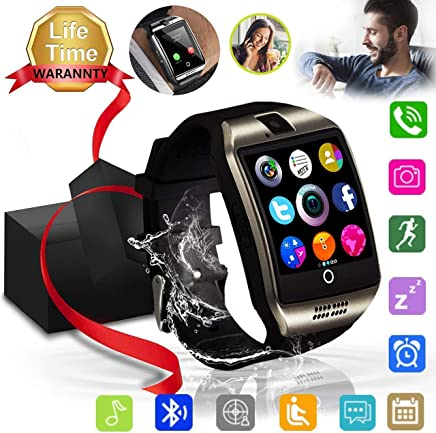 Bluetooth Smart Watch, XIAOGAJI Touch Screen Sport Wrist...