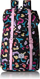Retreat Youth Kid's Backpack, Fiesta/Pink Lady, One Size