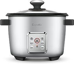 Breville The Multi Grains Rice Cooker, Silver BRC550SIL