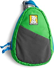 RUFFWEAR Dog Bag Dispenser, Attaches to Any Lead, Bags Included, Meadow Green, Stash Bag, 3573-345
