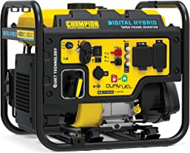 Champion Power Equipment 100574 4000-Watt RV Ready Digital Hybrid Inverter Generator with Dual Fuel Technology